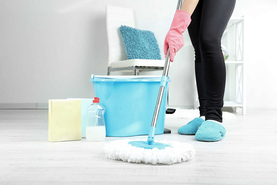 house or residential cleaning image